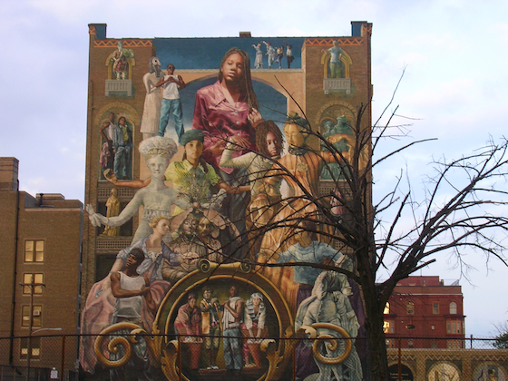 Public art murals celebrated in philadelphia greater des for Mural tour philadelphia map