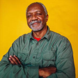 Portrait of the artist Kerry James Marshall, 2018