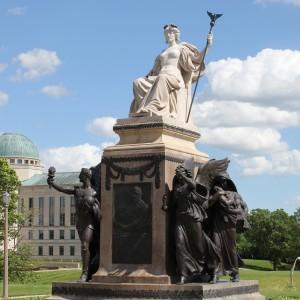 US Senator William Boyd Allison Monument