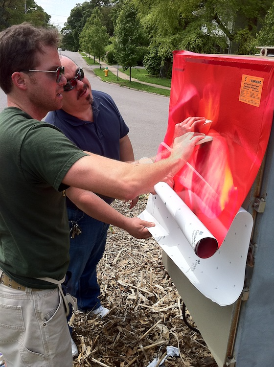 Neighborhood Utility Box It S A Wrap Greater Des Moines