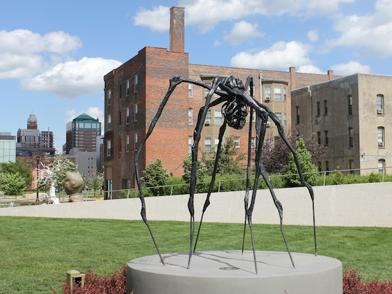 SPIDER (1997) by Louise Bourgeois (American, born France, 1911-2010), On view at Mary and John Pappajohn Sculpture Park, Des Moines, Iowa