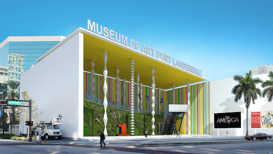 The Museum of Art | Fort Lauderdale - Nova Southeastern University, founded in 1958, is housed in a building designed by noted American architect Edward Larrabee Barnes and completed in 1986.