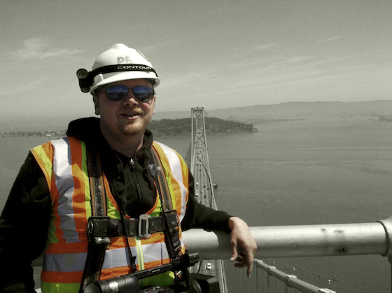 Jeremy Ambers was the proverbial fly on the wall through the mountains of red tape, technical delays and funding issues the Bay Bridge Lights team encountered.