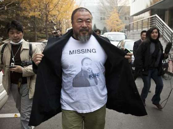 "Chinese artist and political activist Ai Weiwei prepares to open a new show ""@Large: Ai Weiwei on Alcatraz"" in September 2014. The installation will feature seven large-scale works that will probably amount to the most extraordinary use of the old federal penitentiary since the Indian occupation of 1969."