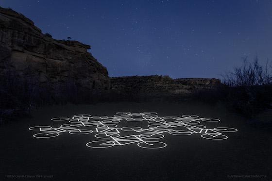 Ai Weiwei's Sandpainting Design