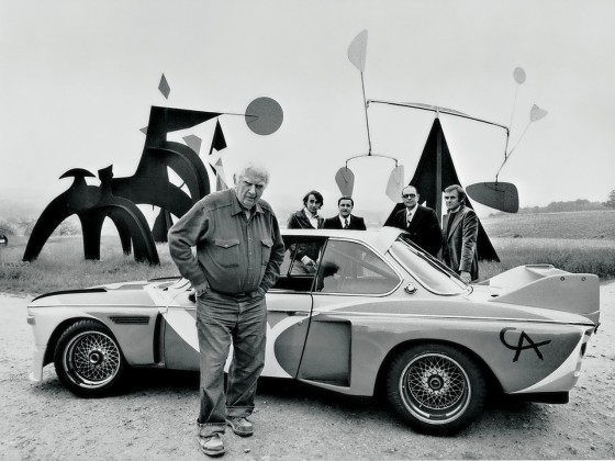 Since Calder's work of art, many other renowned artists throughout the world have created BMW Art Cars, including David Hockney, Jenny Holzer, Roy Lichtenstein, Robert Rauschenberg, Frank Stella, and Andy Warhol. To date, a total of 17 BMW Art Cars, based on both racing and regular production vehicles, have been created. Frank Stella also made one unofficial art car at the behest of race car driver Peter Gregg. The most recent artist to the join BMW Art Car program is Jeff Koons in 2010 with his M3 GT2, which competed in the 2010 24 Hours of Le Mans but did not finish.[2] Artists for the BMW Art Car Project are chosen by a panel of international judges.