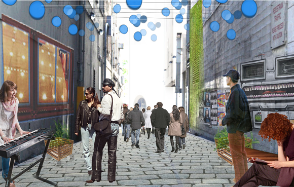 There is growing interest in alleys for professionals, citizens and government.