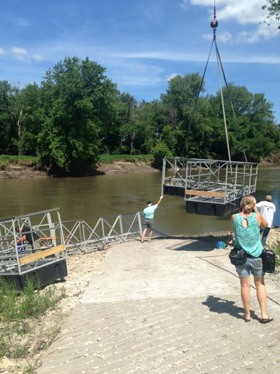 'Wading Bridge' Invites People to Reconnect with the River