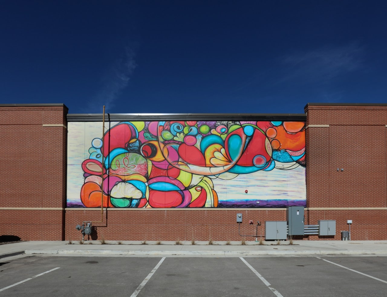 Untitled mural greater des moines public art foundation for Craft stores des moines