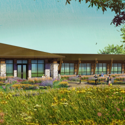 The Jester Park Nature Center will serve as one of Iowa's leading nature centers as well as a gateway to experience Iowa's natural environment. It will serve as a focal point within the community where recreation, education, tourism and conservation efforts all intersect into one goal - to protect, preserve and promote the landscape in which we live, work and play.