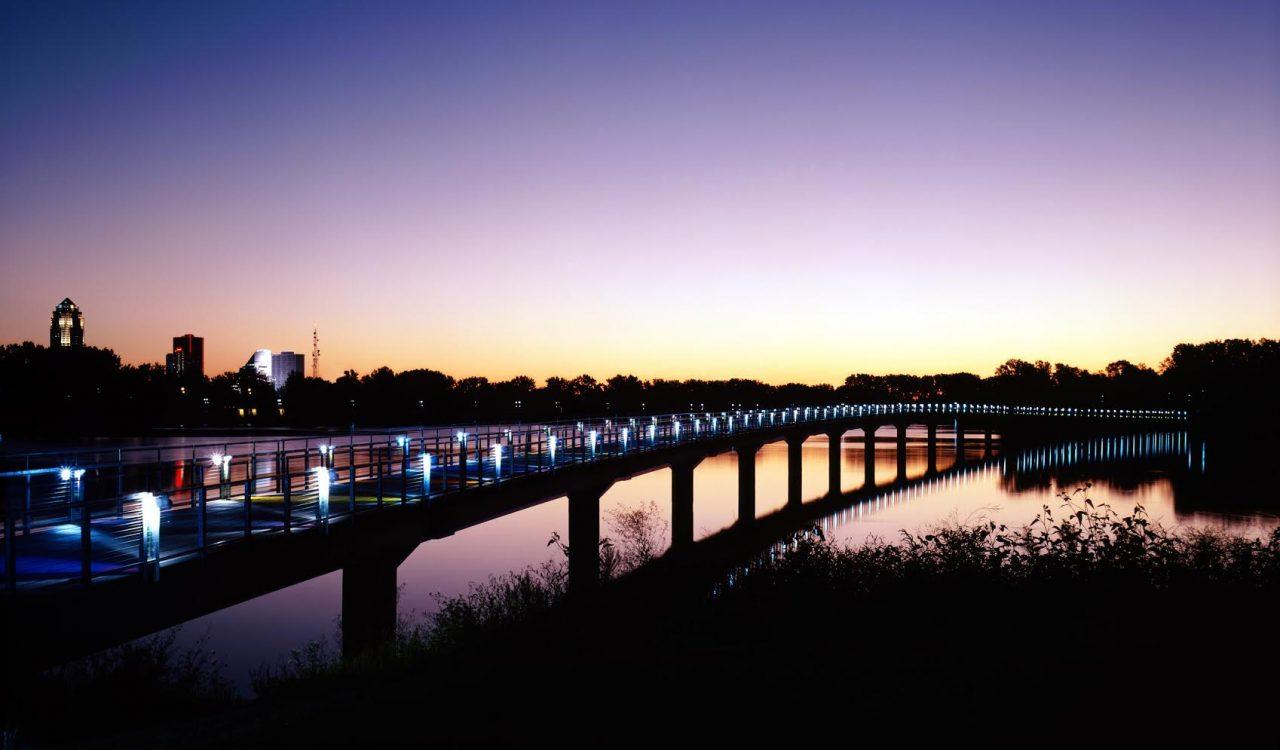 Gray's Lake Bridge, Des Moines, Iowa