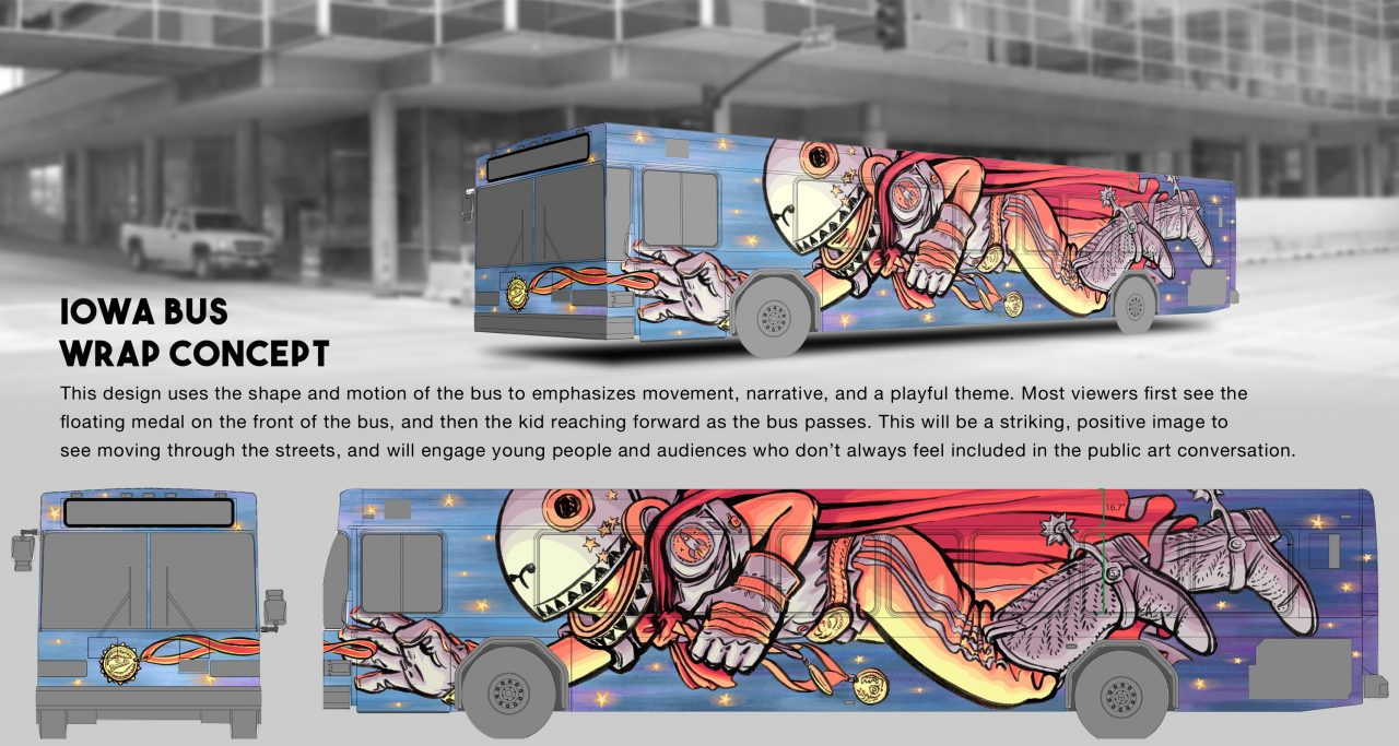 Export Greater Des Moines Public Art Foundation Hand Grip Kansa Busa Concept Design By Nick Goettling